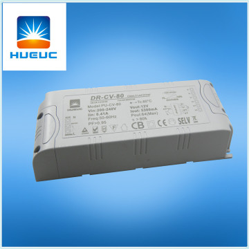 push switch dimmable led driver 80w
