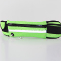 Green waterproof running sports waist bag iphone