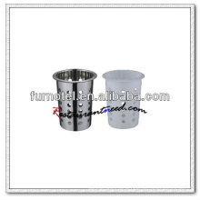 U150 Plastic/Stainless Steel Cutlery Holder