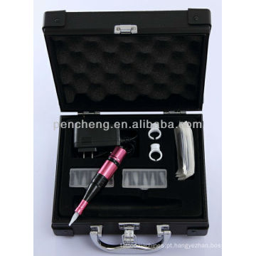 Dupla agulha Maquiagem permanente de luxo Tatuagem labial 3 armas kit de tatuagem