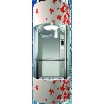 Лифт наблюдения с емкостью 1600 кг (малый и изысканный)