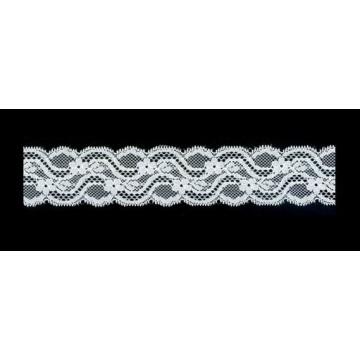 Popular Nylon Rayon Embroidery Lace/rayon Dress Fabric lace edging