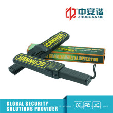 Indication d'alarme LED Detection de broche Détecteur de métaux portable avec adaptateur