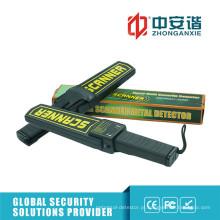 Indicação de alarme LED Detecção de pinos Detector de metais portátil com adaptador