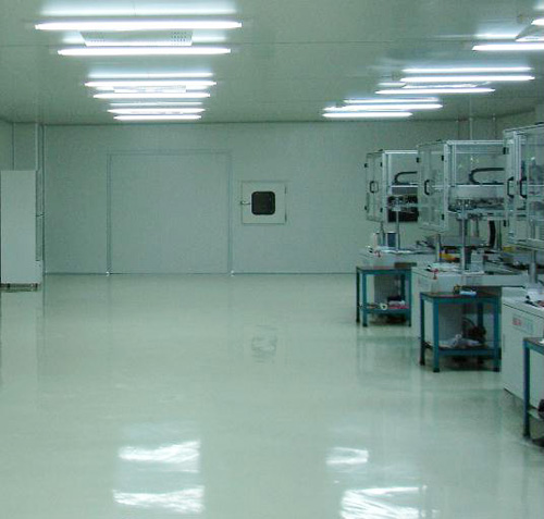 Chemical Laboratory Epoxy Floor