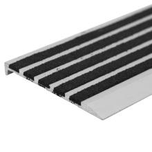 Perfis de perfuração de alumínio extrudado / Tiras de escorregar da escada