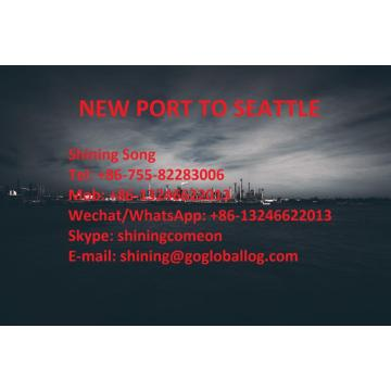 Foshan New Port Sea Freight aux États-Unis Seattle