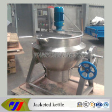 150 Liter Semi-Automatic Type Cooking Kettle with Agitator