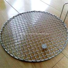 Круглая оцинкованная решетка для гриля для проволоки Singpore