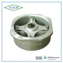 Válvula de verificação do tipo Wafer do aço inoxidável, Pn40