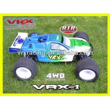 1:8 rc carro 4WD carro elétrico, carro de modelo sem escova, RTR brinquedo, marca VRX.