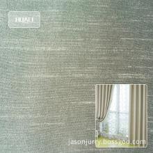 100% polyester dupioni fabric for window curtain fabric