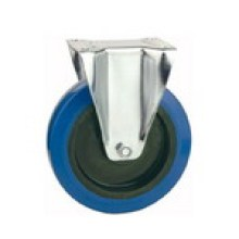 Industrial Blue Rubber Caster Wheel (KXX1-D)