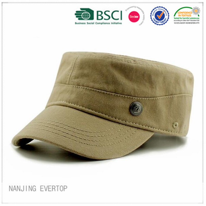 Qualitativ hochwertige coole graue Military Cap