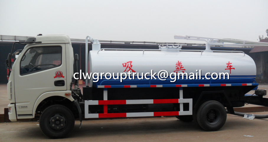 CLW GROUP TRUCK Xe tải hút Foton Fecal