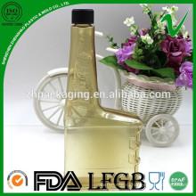 Экологически чистая утилизация индивидуальной пустой химической бутылки из ПВХ для бензина