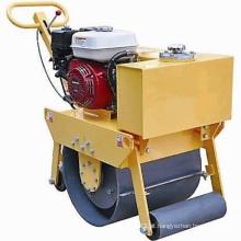 Rolo compactador vibratório monocilíndrico motor Honda