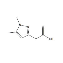 CAS حمض 2-(1,5-Dimethyl-1H-Pyrazol-3-YL)Acetic 1185292-77-6