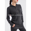 2 piece set women clothing hooded sweater and long track pants suit