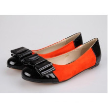 Patch Flat Ladies Shoes (Hcy02-883)