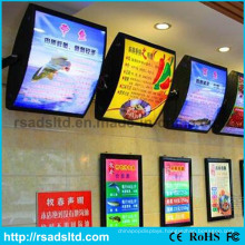 Fast Food Poster Menu LED Light Box