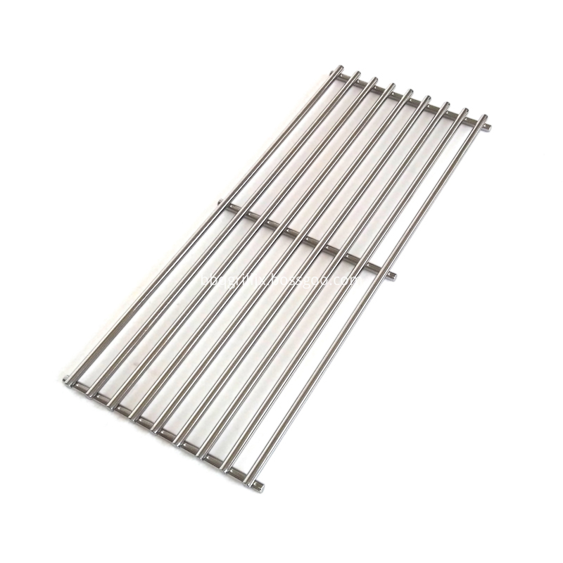 Stainless Steel Bbq Cooking Grid Side View