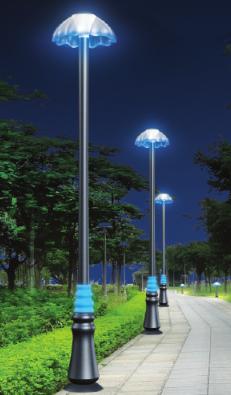 Landscape Courtyard Lamps