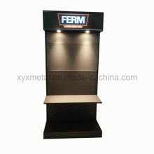 Exhibition and Advertising Metal Equipment with LED Lighting Tools Display Stand