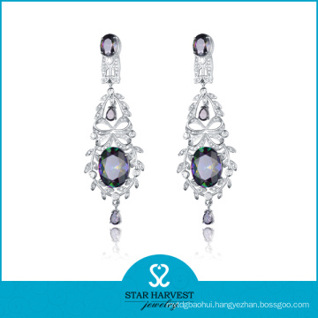 Factory-Direct, Good Quality Silver Earring Jewelry in 2016 (E-0139)