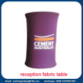Tension Fabric Promotional Display Counter with Printing