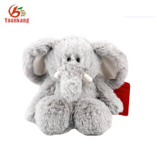 Stuffed 25cm Grey Big Ears Plush Elephant Toy for Kids