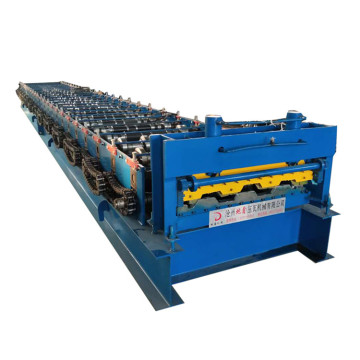 Galvanized Steel Deck Floor Making Tile Machine