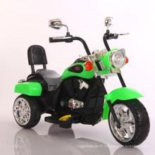 Jouet de voiture de moto électrique blanc pour les enfants de rouler