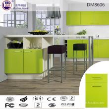 Glossy Green Farbe Hölzerne Küche Schrank Möbel