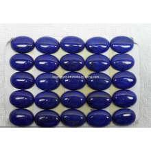 Драгоценный камень кабошон кабины Ляпис-лазурь для настройки ювелирных изделий
