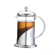 Prensa de té de vidrio para uso doméstico 800ml