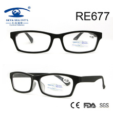 Óculos de leitura de plástico de alta qualidade da moda vintage (RE677)