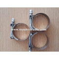 double wire carbon steel T bolt clamps