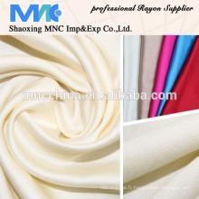 100% soie de rayonne teinte nouveau tissu de mode