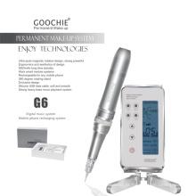 Goochie G6 mais recente máquina de tatuagem permanente da sobrancelha da composição de Digitas