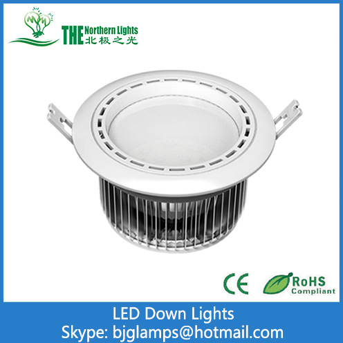 9W/12W/15W LED Downlights of Recessed Lights