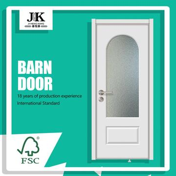 JHK-G07 House Door Design Antique Glass Doors Support