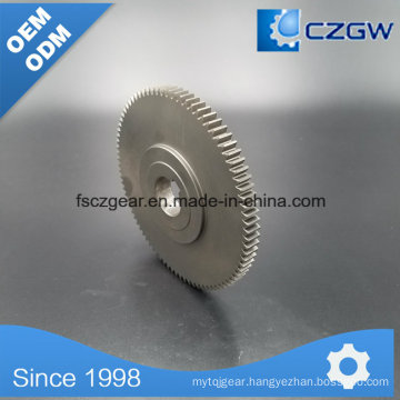Precised Transmission Steel Gear Spur Gear for Various Machinery