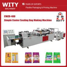 Étanchéité à trois côtés et étiquetage centralisé machine à éco