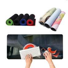 Rubber Roll Blank 3D Logo Gamer Sublimation Large Game Mouse Pad Custom mousepad