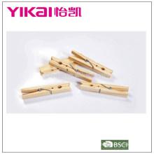 Builk conjunto de 24 piezas de madera de pino pegs impermeabilización insectos