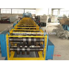 Perfil de acero CZ Rodillo de Purlin que forma la máquina para el uso de la construcción