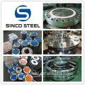 La bride DIN / EN / ANSI B16.5 forgée de tuyau d'acier inoxydable pour le pétrole.