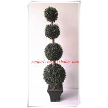 2014 the best seller high imitation fake grass ball tree
