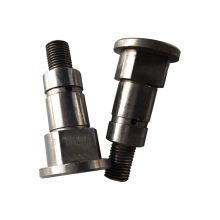 Kundenspezifische CNC-Bearbeitung von Motorteilen und Motorwelle